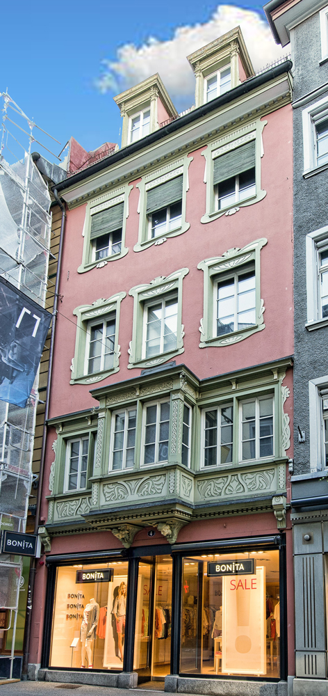 St. Gallen, Multergasse 4